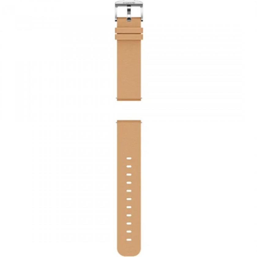 Remienky na hodinky 20 mm Remienok Huawei, š. 20mm, kožený, hnedá