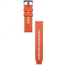 Remienok 22mm Huawei pre smart hodinky, silikón, oranžová