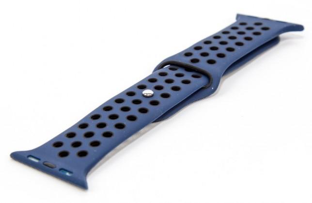 Remienok pre Apple Watch 42/44 mm a Immax SW10, modrá/čierna