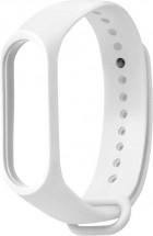 Remienok pre Xiaomi Mi Band 3/4, silikón, biela