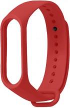 Remienok pre Xiaomi Mi Band 3/4, silikón, červená