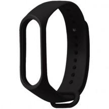 Remienok pre Xiaomi Mi Band 3/4, silikón, čierna