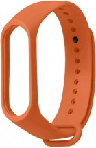 Remienok pre Xiaomi Mi Band 3/4, silikón, oranžová