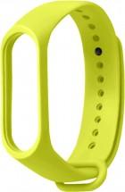 Remienok pre Xiaomi Mi Band 3/4, silikón, zelená