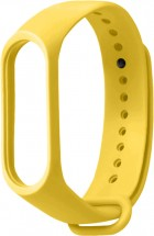 Remienok pre Xiaomi Mi Band 3/4, silikón, žltá