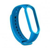 Remienok pre Xiaomi Mi Band 5, silikón, modrá