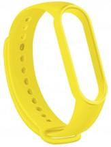 Remienok pre Xiaomi Mi Band 5, silikón, žltá