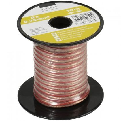 Repro káble Vivanco reprokábel 0,75mm, 10m 21247