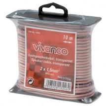 Reproduktorový kábel Vivanco 18246 10m, 1,5mm