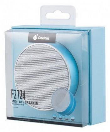 Reproduktory Bezdrôtový reproduktor One Plus s FM rádiom, modrá