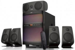 Reproduktory Fenda F&D F5060X, 5.1, 135 W, Bluetooth, čierne