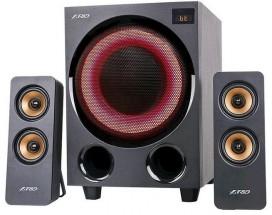 Reproduktory Fenda F&D F770X, 2.1, 76W, RGB, čierna