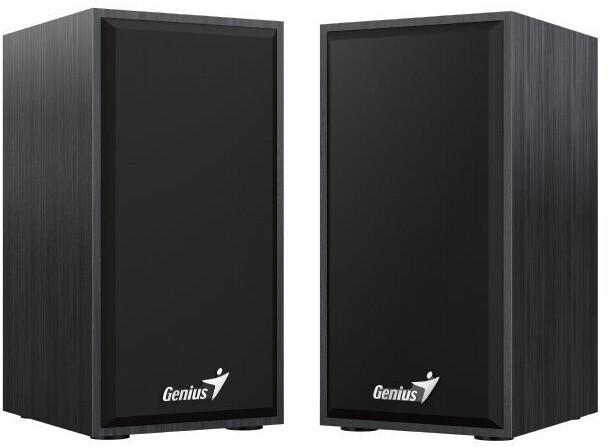 Reproduktory Genius SP-HF180, 2.0, 6W, drevené, čierna