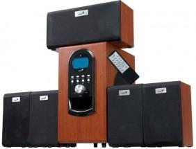 Reproduktory Genius SW-HF 5.1 6000 Ver. II, drevené