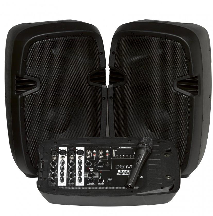 Reproduktory k TV DENVER DJ-200