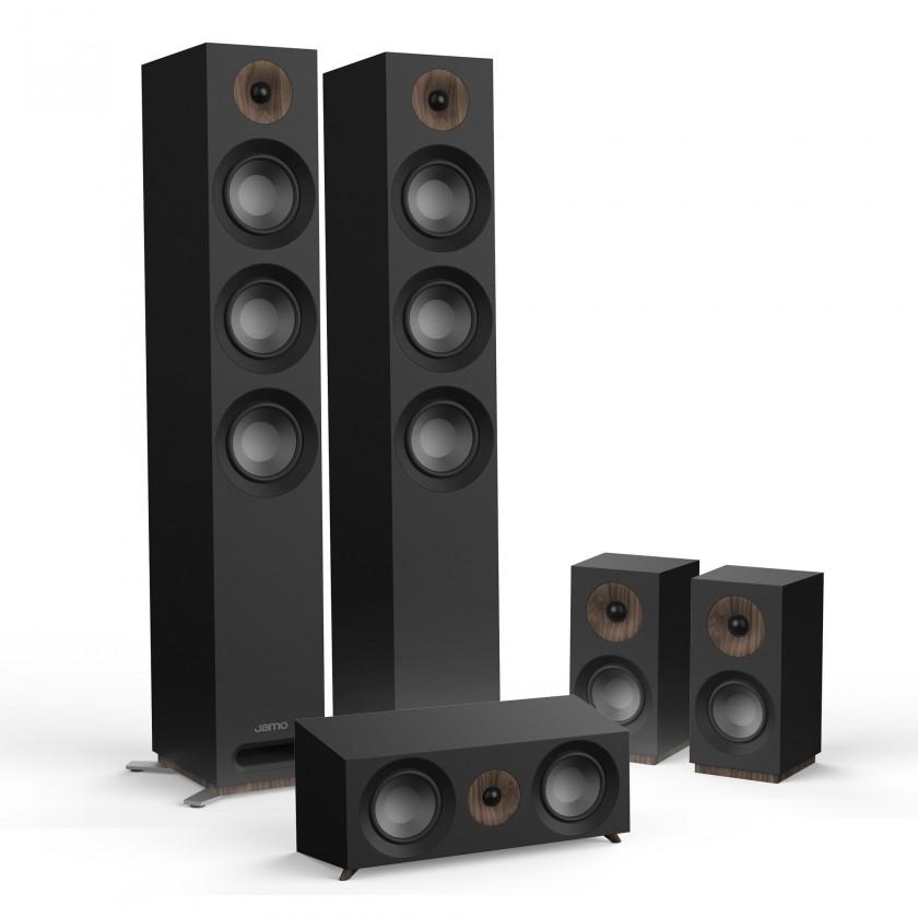 Reproduktory k TV Reprosústava Jamo S 809 HCS, čierna