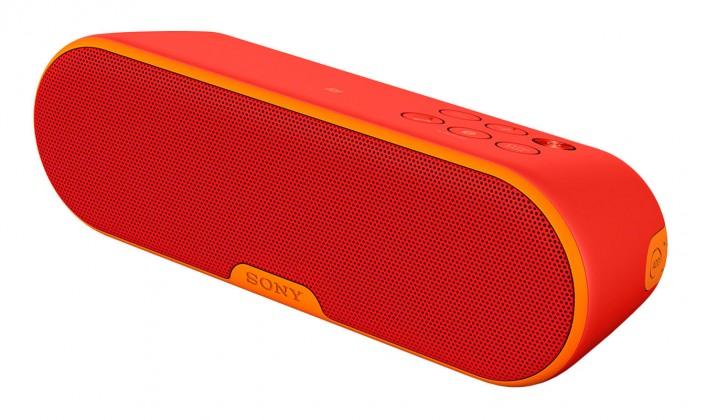 Reprosústavy a reproduktory Sony SRS-XB2, červená