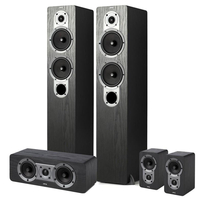 Reprosústavy Jamo S 426 HCS, čierna