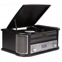 Retro gramofón Denver MRD-51, čierny