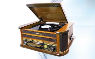 Retro gramofóny Retro gramofón Roadstar HIF-1899TUMPK