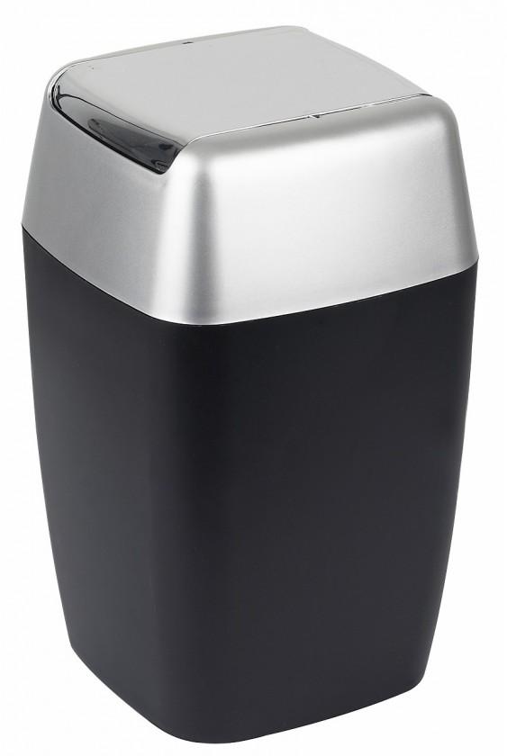 Retro-Odpadkový kôš black