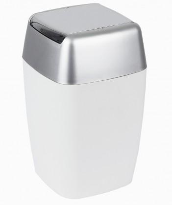 Retro-Odpadkový kôš white