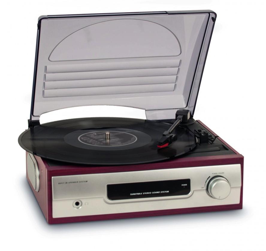Retro rádio Retro gramofón BIGBEN TD012