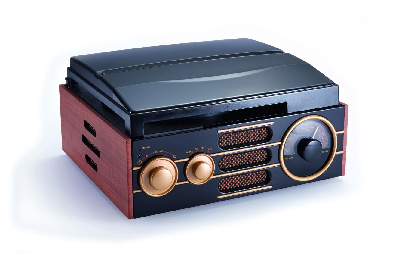 Retro rádio Retro gramofón BIGBEN TD101