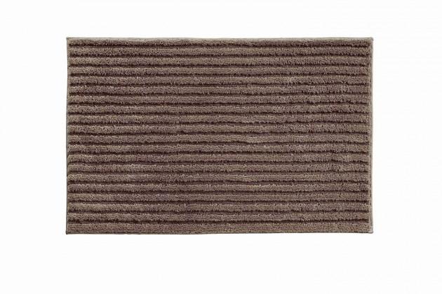 Riffle - Kúpeľňová predložka 60x100 cm (kakaová)