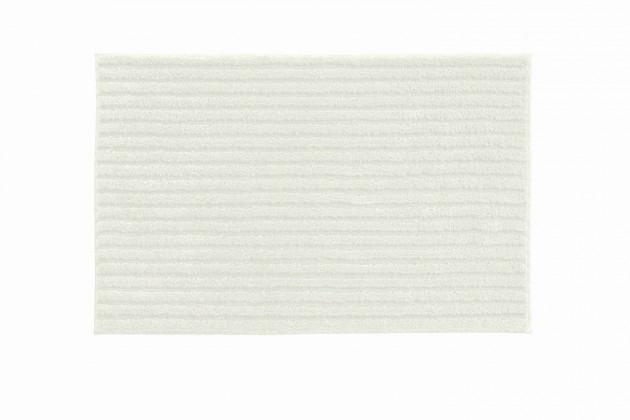 Riffle - Kúpeľňová predložka 60x100 cm (smetanová)