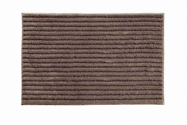 Riffle - Kúpeľňová predložka 70x120 cm (kakaová)