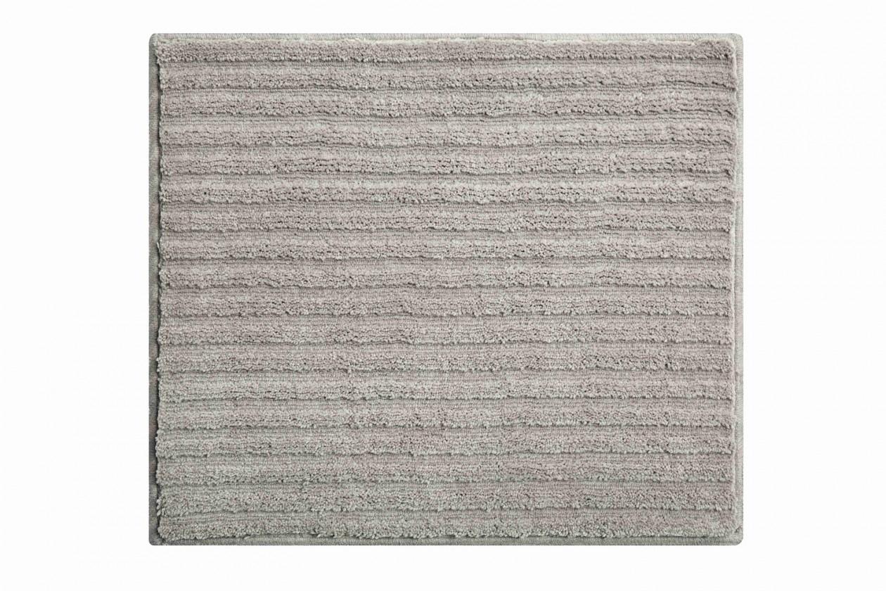 Riffle - Kúpeľňová predložka malá 50x60 cm (sivá)