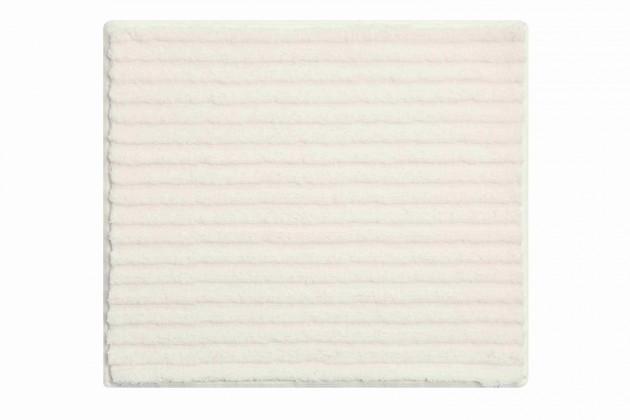 Riffle - Kúpeľňová predložka malá 50x60 cm (smetanová)