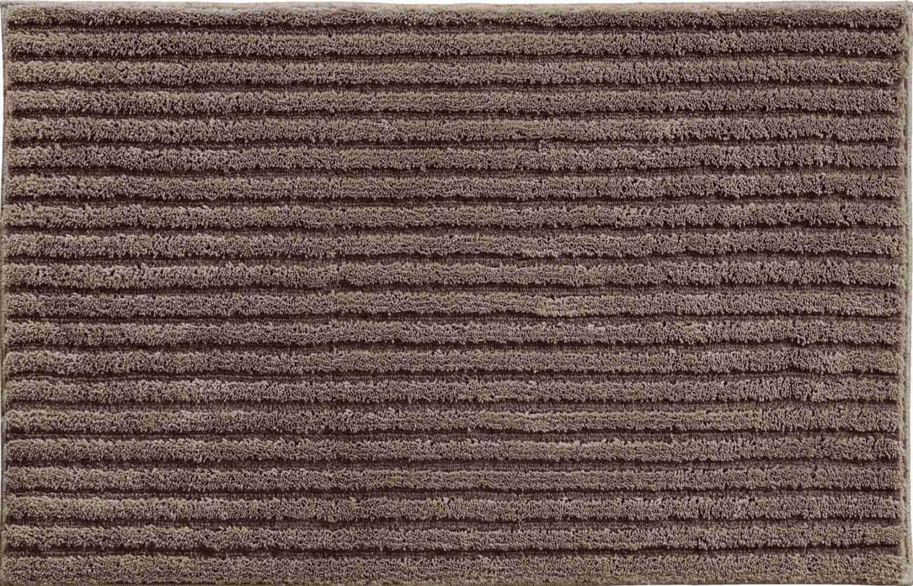 Riffle - Malá predložka 50x60 cm (kakaová)