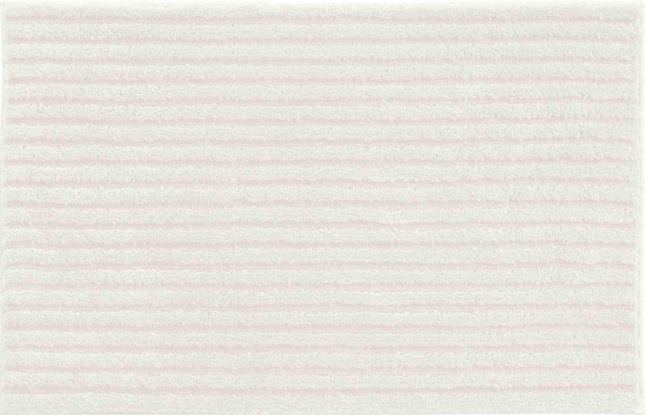 Riffle - Malá predložka 50x60 cm (krémová)