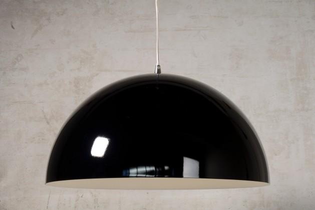 Riva - stropné osvetlenie, 60W, E27 (čierna)