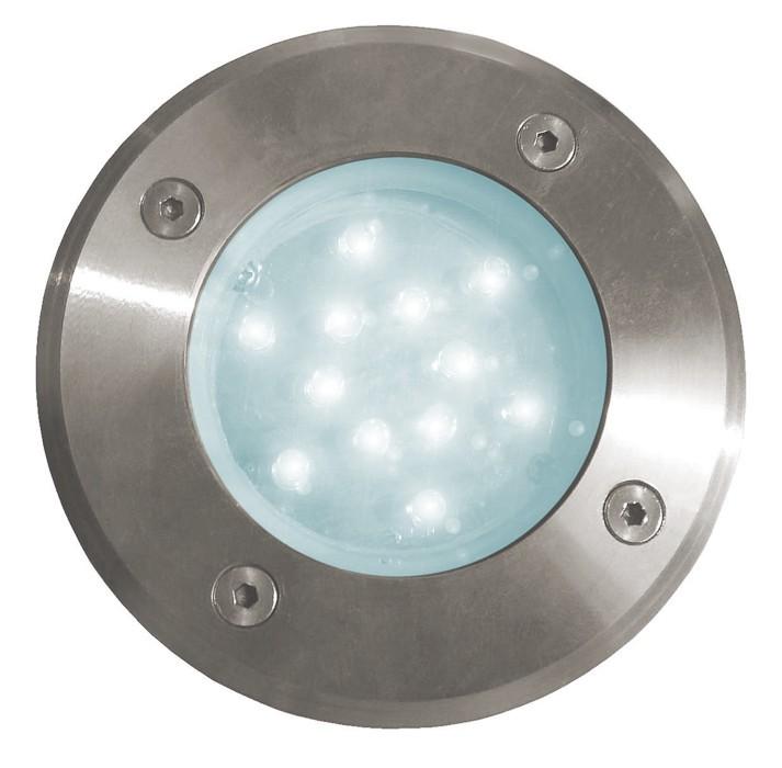 Road - vonkajšie LED svietidlo, 12LED, 1W, 24x24x57 (studená)