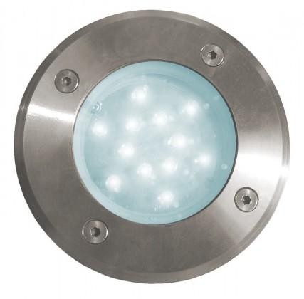 Road - vonkajšie LED svietidlo, 12LED, 1W (teplá)