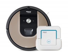 Robotický vysávač iRobot Roomba 976 a mop Braava jet 240