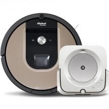 Robotický vysávač iRobot Roomba 976 a mop Braava jet m6