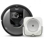 Robotický vysávač iRobot Roomba i7 + mop iRobot Braava jet m6