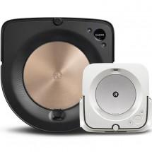 Robotický vysávač iRobot Roomba s9 a mop Braava jet m6