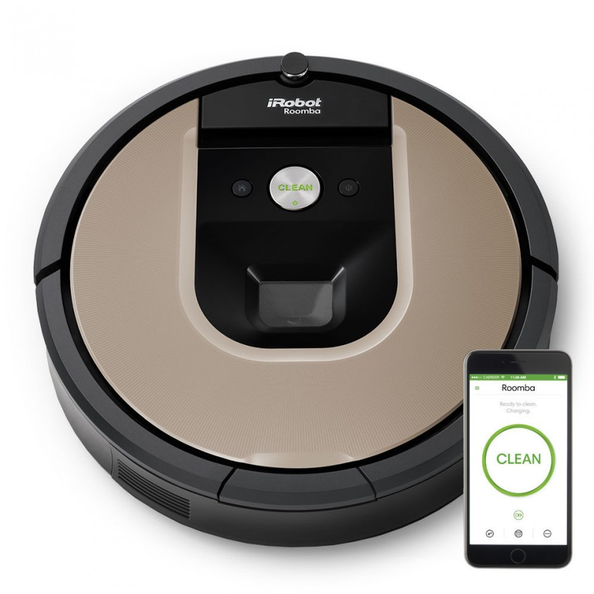 Robotický vysávač Robotický vysávač iRobot Roomba 966, WiFi