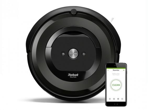 Robotický vysávač Robotický vysávač iRobot Roomba E5 Black, WiFi