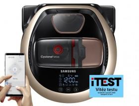 Robotický vysávač Samsung VR20M707CWD, WiFi