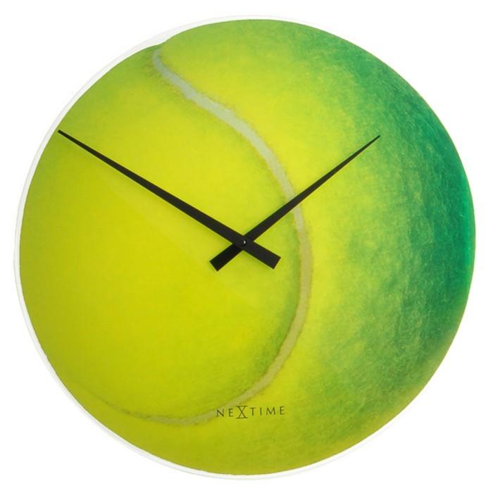 Roger - hodiny, nástenné, guľaté (sklo, farebné)