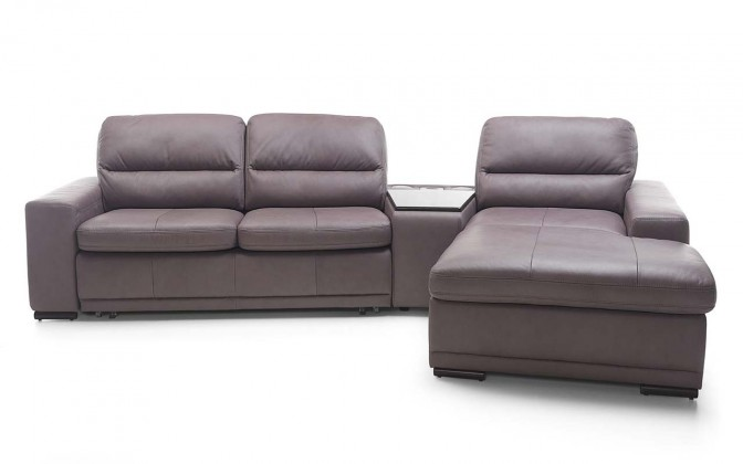 Rohová Bono - rohová sedačka s barovým stolíkom pravá (madras G-170)