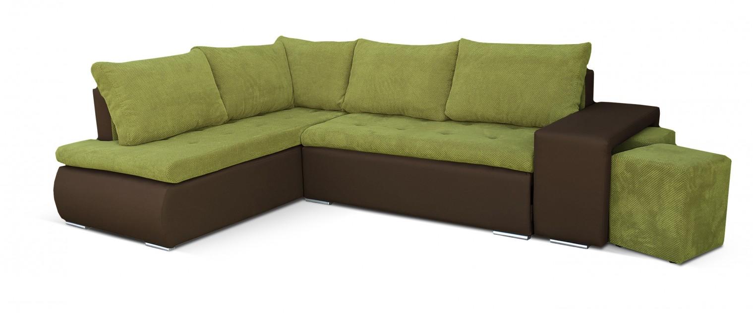 Rohová Kris - roh ľavý (doti 35, korpus/soft 66, sedák, taburety)