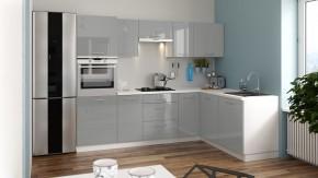 Rohová kuchyňa Emilia Lux pravý roh 260x180 cm - II. akosť