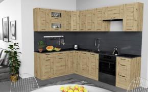 Rohová kuchyňa Jorica ľavý roh 270x190 cm (dub artisan)